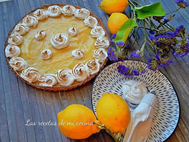 Mi tarta de limón con merengue (VIDEORECETA)
