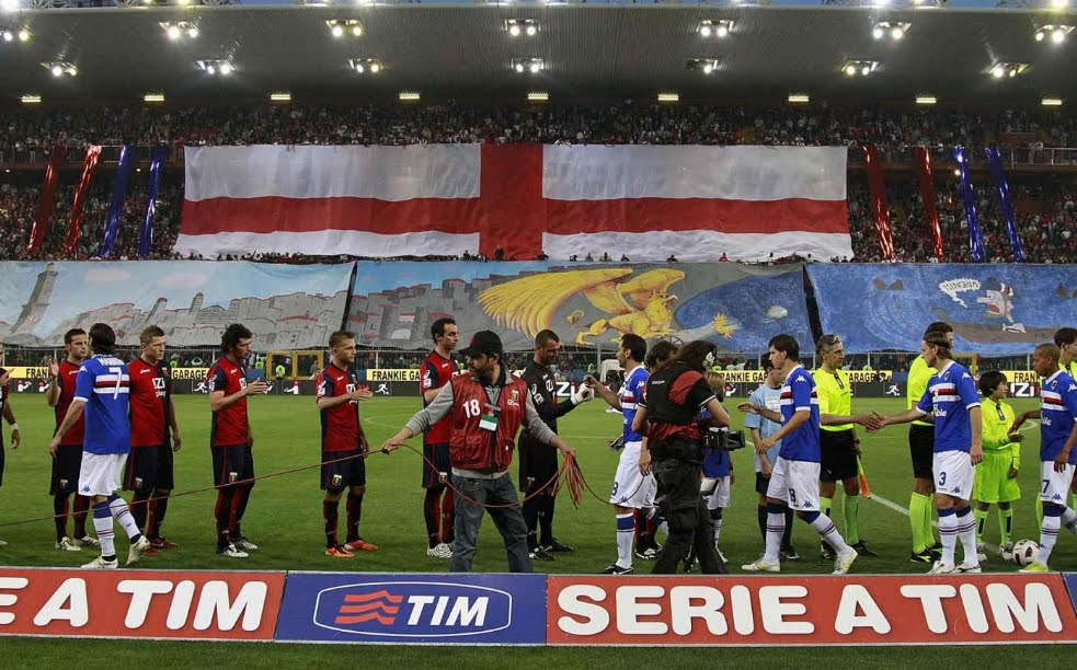 Genoa-Sampdoria Streaming Rojadirecta, dove vedere il Derby della Lanterna di Genova.