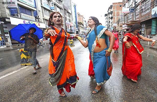 perarakan mak nyah di nepal