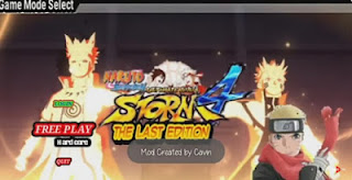 Naruto Senki The last mod apk unlimited money