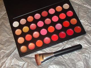 paleta de gloss de 40 colores
