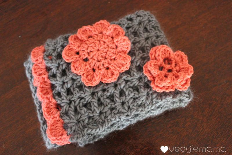 Free Crochet Pattern Vintage Style Scarf Veggie Mama