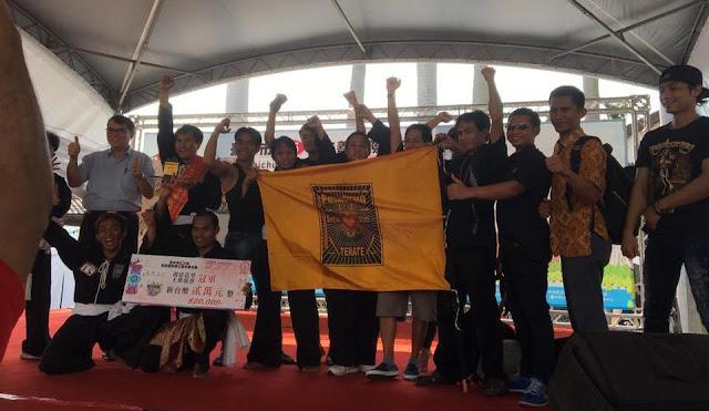 Hore...! Tim TKI Indonesia Ini Menang Dalam Taichung City 2016 Labour Festival