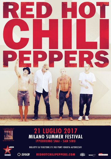 Review & Set List: Red Hot Chili Peppers @ Milano Summer