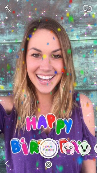 how%2Bto%2Buse%2BSnapchat%2Bbirthday%2Bfilters Snapchat Birthday Filters ~ How to use Snapchat birthday filters Android