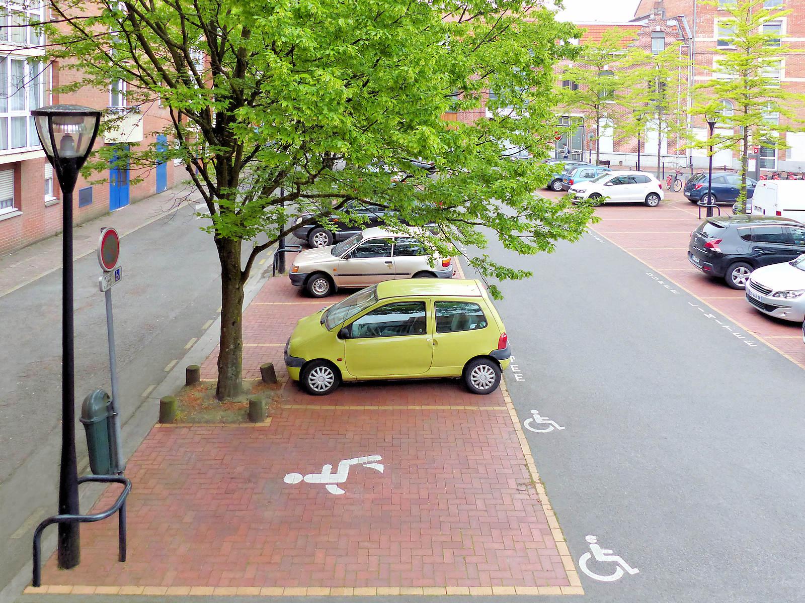 Stationnement Tourcoing Centre - Places Handicapés Parking Lagrange