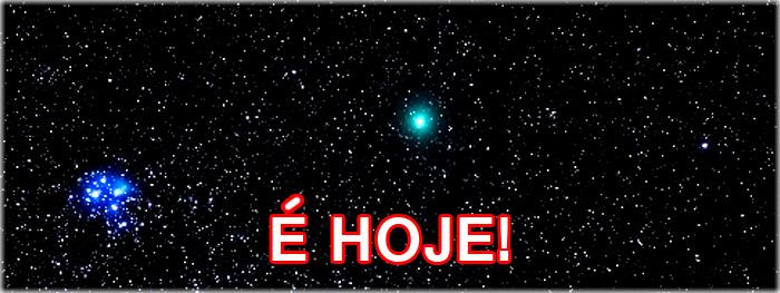 cometa 46 p wirtanen - como encontra-lo no céu