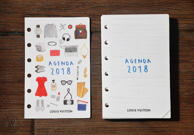 agenda refill pages 2018