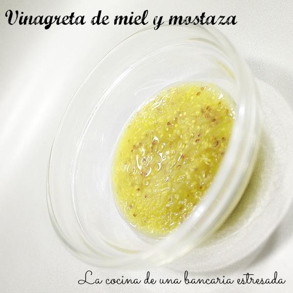 Receta de vinagreta de mostaza y miel paso a paso