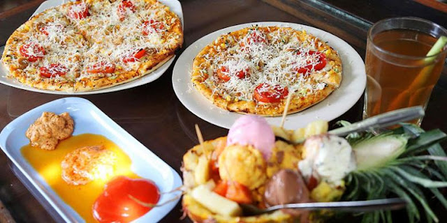 pizza andaliman