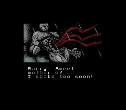 Resident Evil Gaiden Screenshot