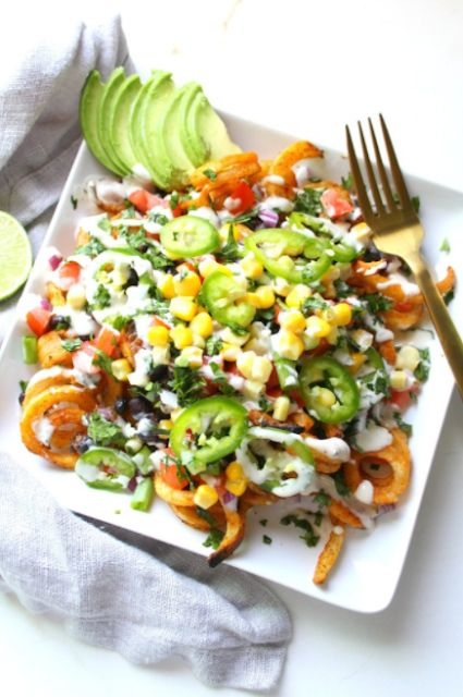 Loaded Vegan Taco Fries @HealthyLivingandLifestyle