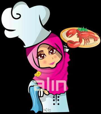 62 Gambar Kartun Muslimah Tersenyum Gratis Terbaru