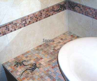 Cerco mosaici mosaici rivestimento bagni - Mosaici da bagno ...