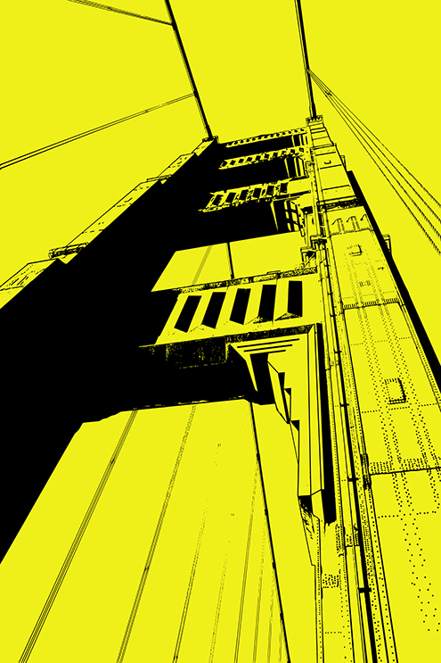 golden-gate-bridge-illustration-color-yellow-san-francisco-california-graphic-design-art-photoshop-inkscape-free-dibujo-drawing-estilo-style-art-deco-maravillas-del-mundo-wonders-of-the-world-arquitectura-ingenieria-architecture-engineering