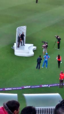 Indian Cricket Captain MS Dhoni at Edbaston Birmingham UK Only T20I 2016