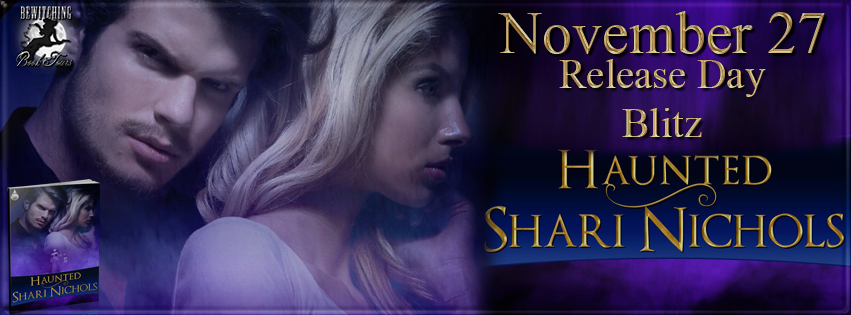 Lisas lovesbooks of course release day blitz for haunted by release day blitz for haunted by shari nichols fandeluxe Choice Image