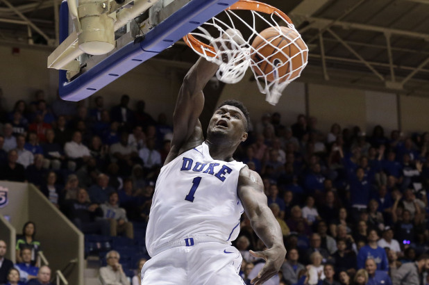 Duke's Zion Williamson powering his way to earning the No. 1 selection