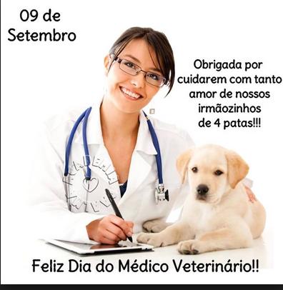 Resultado de imagem para 09 de setembro dia do médico veterinário