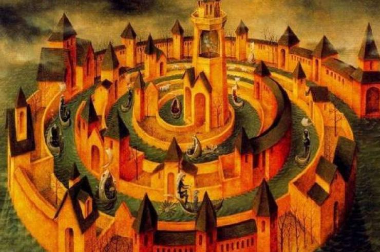 Bread Of Life Interior Castle