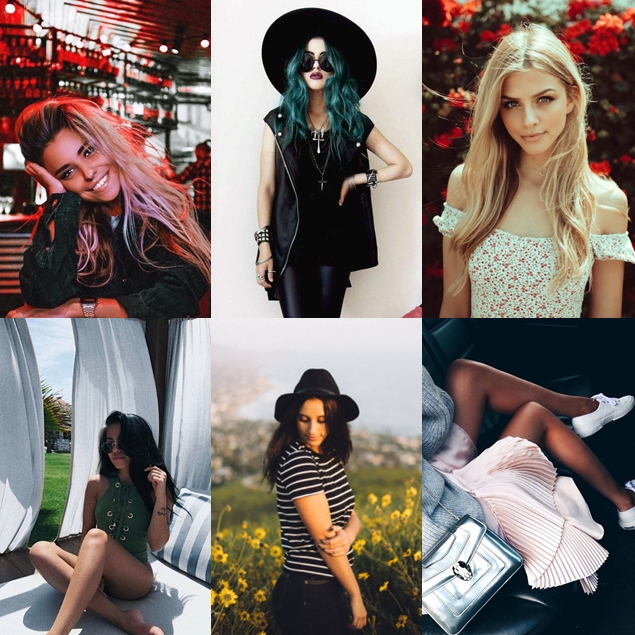 Inspiração de poses para fotos Tumblr
