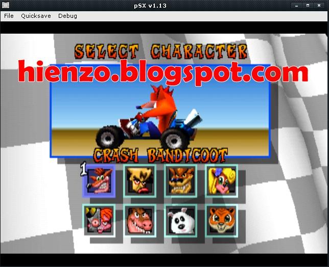 CTR: Crash Team Racing PSX ISO Download   Hienzo.com