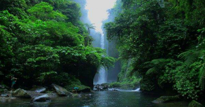 Langkuik Waterfalls Surganya Air Terjun Sumatera Barat