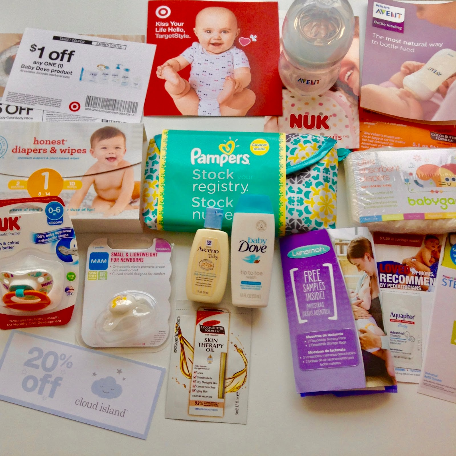 One Of The Perks Making A Baby Registry At Target Babies R Us And Is That You Get To Receive Gift Bag Filled