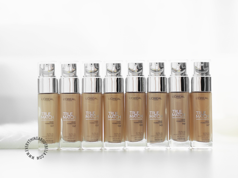 L'Oreal True Match Foundation Review + Swatches (All Shades)