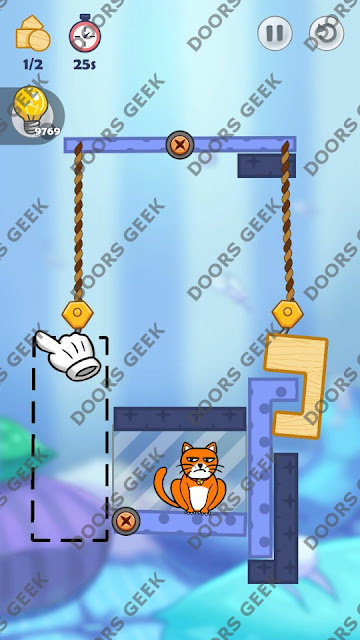 Hello Cats Level 162 Solution, Cheats, Walkthrough 3 Stars for Android and iOS