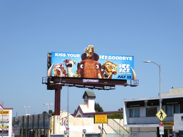 Ice Age Collision Course billboard