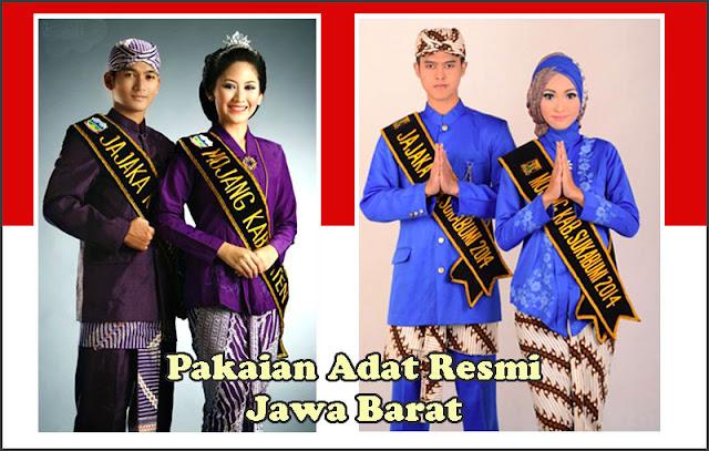 Gambar Pakaian Adat Resmi Jawa Barat