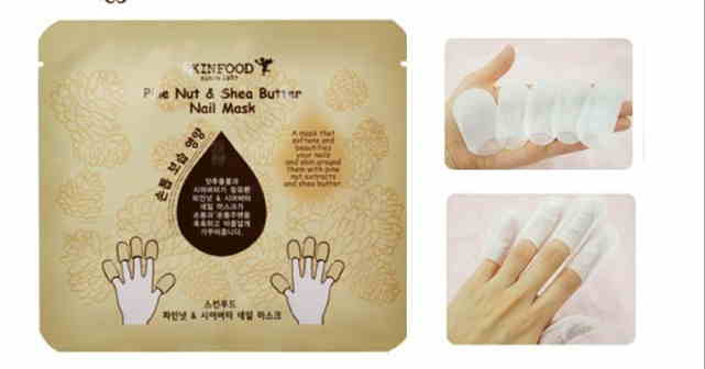 Masker Skin Food Pine Nut & Shea Butter Nail Mask