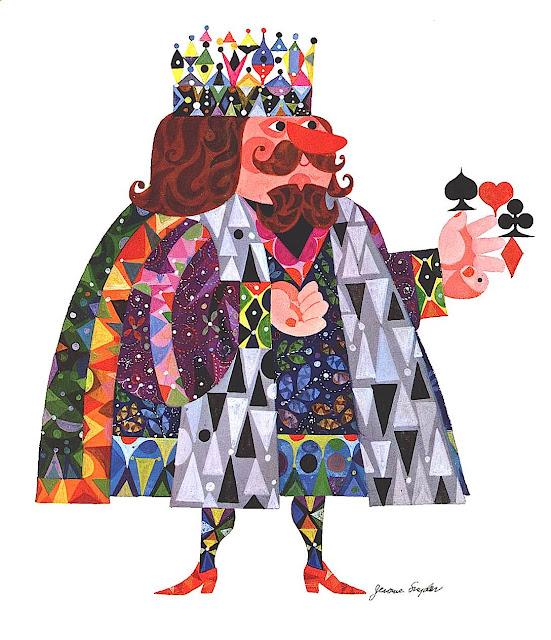 Jerome Snyder illustration 1960s fortune