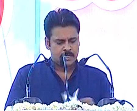 Pawan Kalyan Jana Sena Seemandhra Hakkula meeting in Anantapur Live