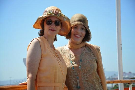 Queen Mary Art Deco Festival 1920s dress