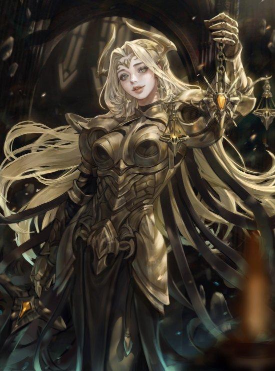 Monable artstation arte ilustrações mulheres animes games fantasia ficção