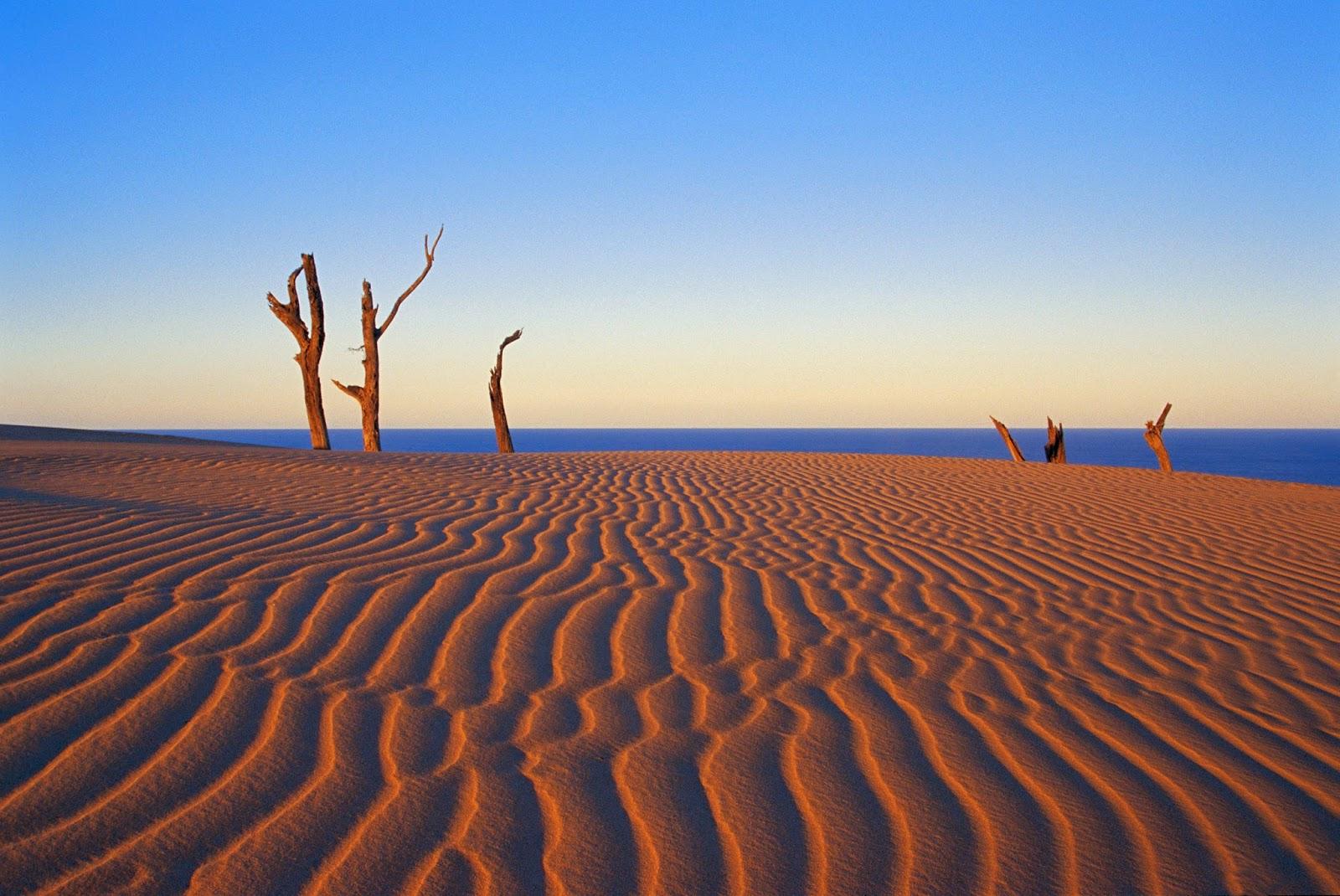 Stonetool Sandblow Fraser Island