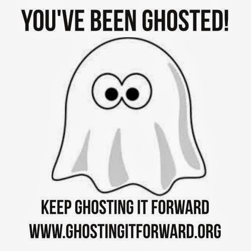 You've Been Ghosted! Keep Ghosting it Forward to Friends.