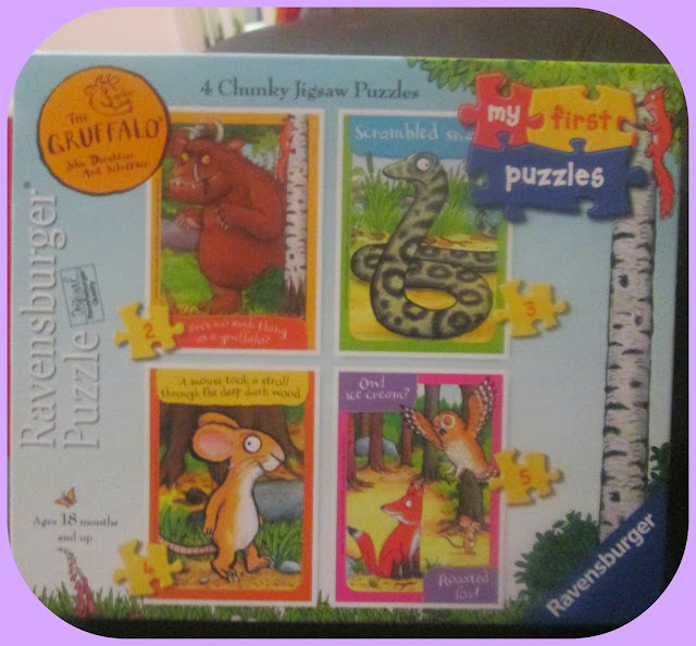 The Gruffalo jigsaw fun for kids and children