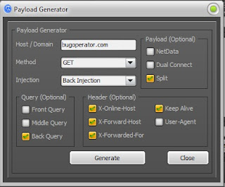 Payload Generator HTTP Injector PC