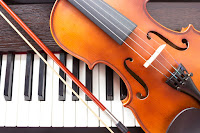 Violin and keyboard