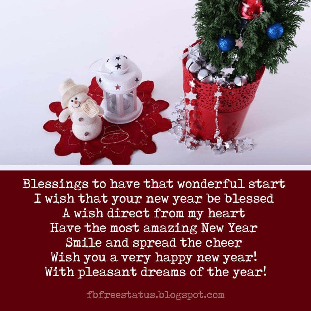 Happy New Year Text Messages, Greeting and New Year Wishes Images.