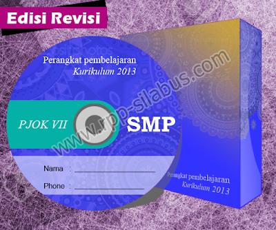 Jual RPP PJOK SMP Kelas VII Kurikulum 2013 Edisi Revisi 2016
