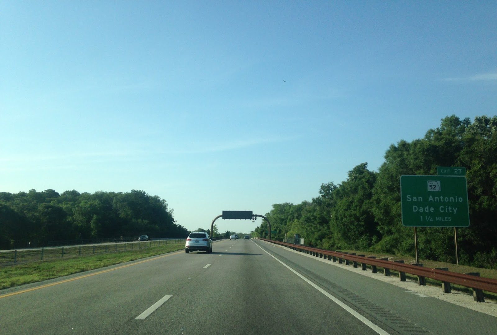 the alignment shifts on us 19 in the spring hill area are massive i ll probably dedicate a blog to it at some point