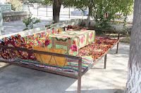 Tajikistan, Khujand,   Gulakandoz, topchan, © L. Gigout, 2012