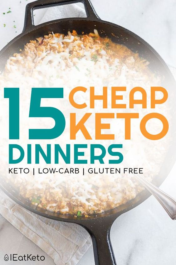 20 Cheap Keto Dinner Recipes for Doing Keto on a Budget