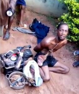 Family Man Beaten To A Pulp After He Was Caught During Robbery Operation In Edo