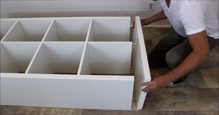 Build a Kitchen Island with Storage Using Ikea Shelf Unit - HANDY DIY