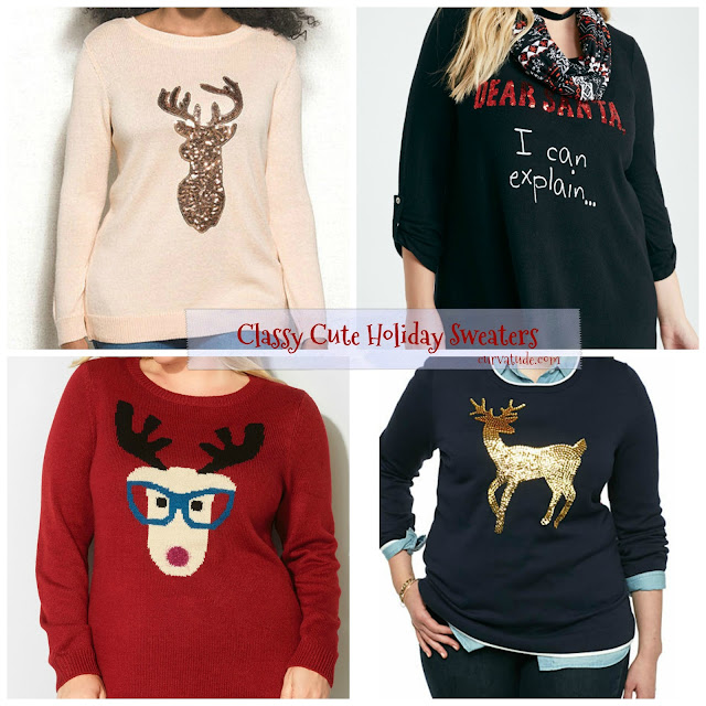 Plus Size Holiday Sweaters